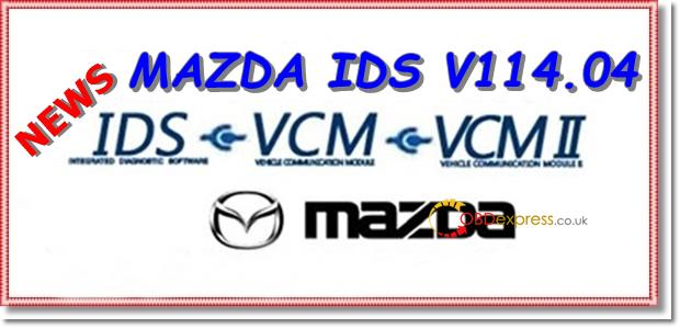 FORD IDS V114 06 MAZDA IDS 114 04 Native Installation : rtqobd2