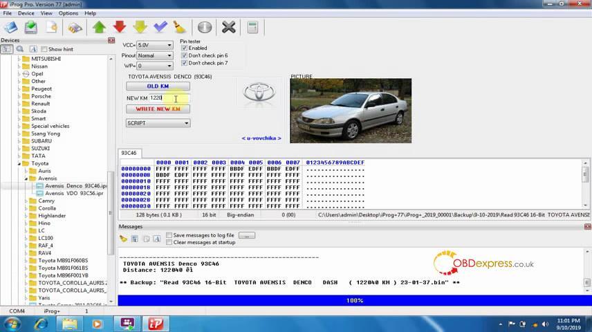 iprog pro v77 installation 05 - Iprog+ Iprog Pro V77 V76 free download, Setup and Test Reports