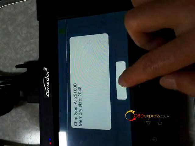 lonsdor-k518s-read-chip-type-at25160b-16