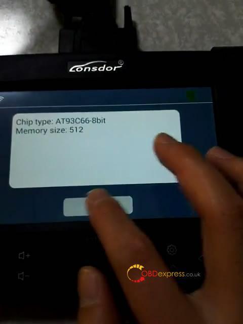 lonsdor k518s read write chip type at93c66 8bit 11 - Lonsdor K518S reads writes eeprom AT93C56-8bit AT93C66-8bit AT25160B