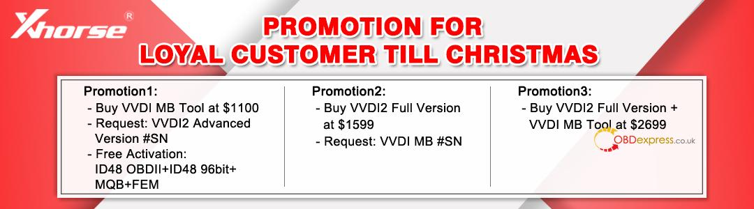 Promotion For Loyal Customer Till Christmas