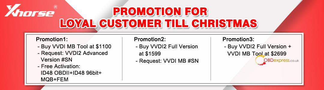 Promotion For Loyal Customer Till Christmas