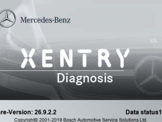 Xentry 2019 12 01