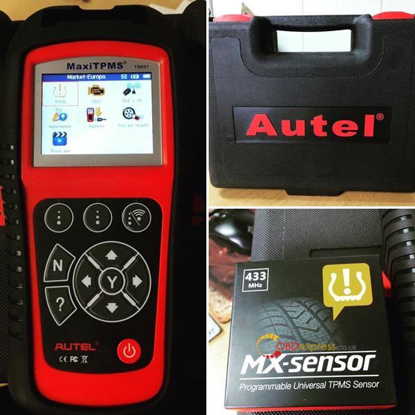 Autel MaxiTPMS TS601 1
