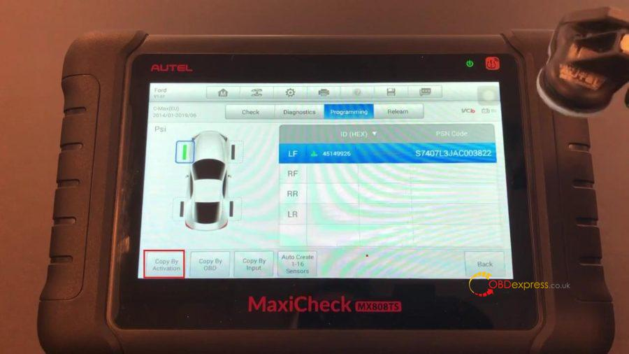Autel Maxicom Mk808ts Full Tpms 10