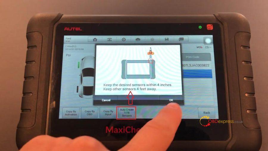 Autel Maxicom Mk808ts Full Tpms 11