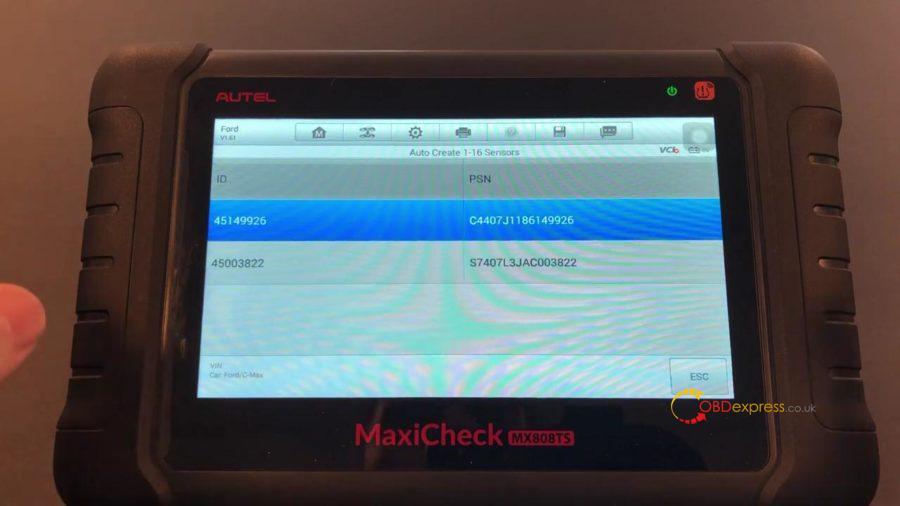 Autel Maxicom Mk808ts Full Tpms 15