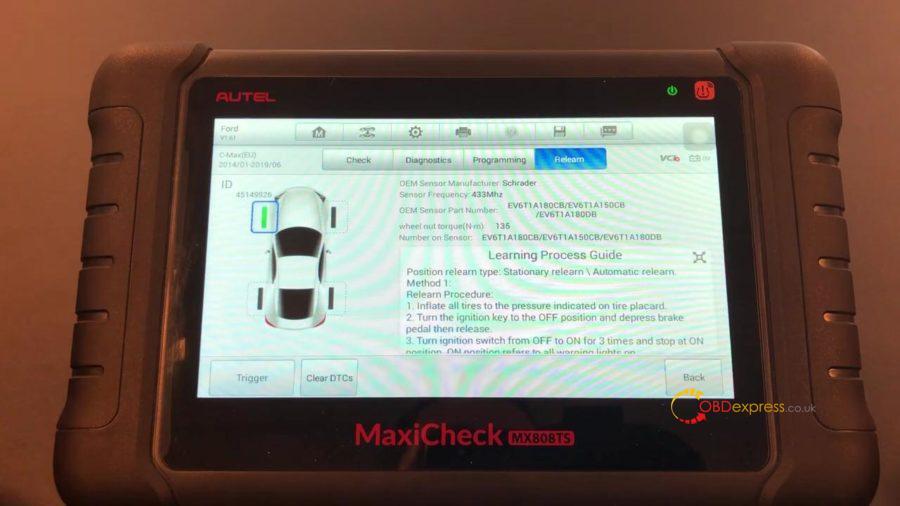 Autel Maxicom Mk808ts Full Tpms 16