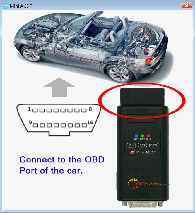 Bmw Cas4 Mileage Reset With Yanhua Acdp 01