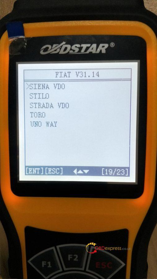 Obdstar X300m Update Fiat V31 14 04