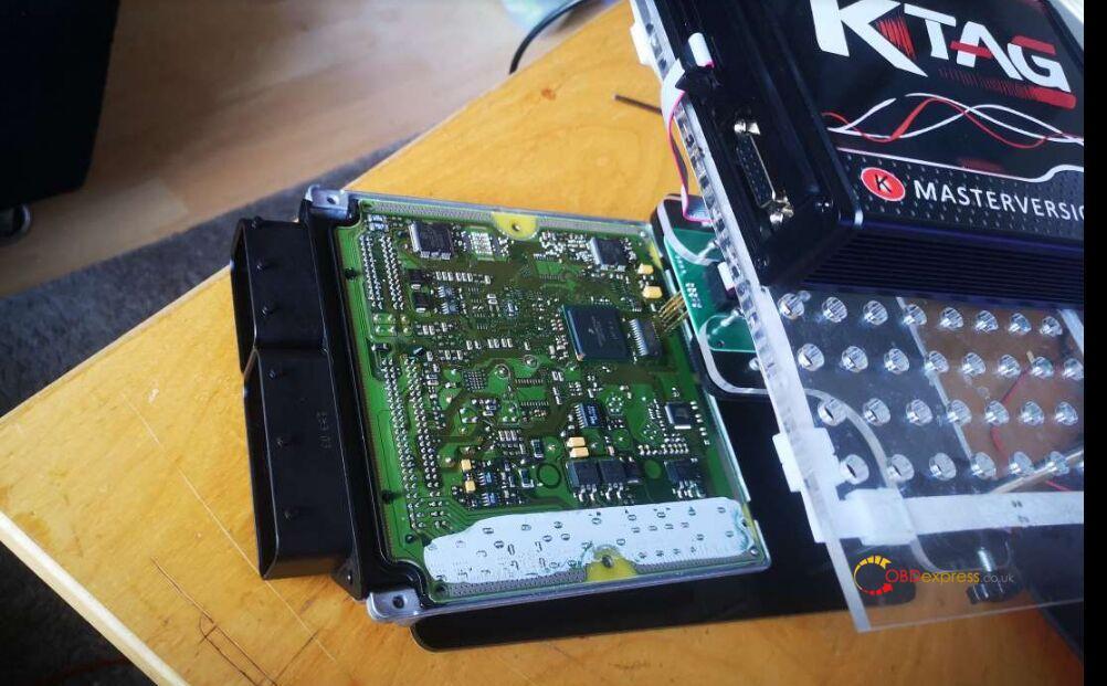 ECUktag V7 020 Bosch Edc16 Communication Error Solution 02