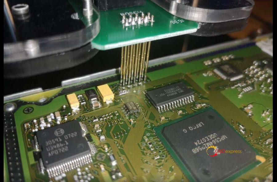 ECUktag V7 020 Bosch EDC16 Communication Error Lösning 04