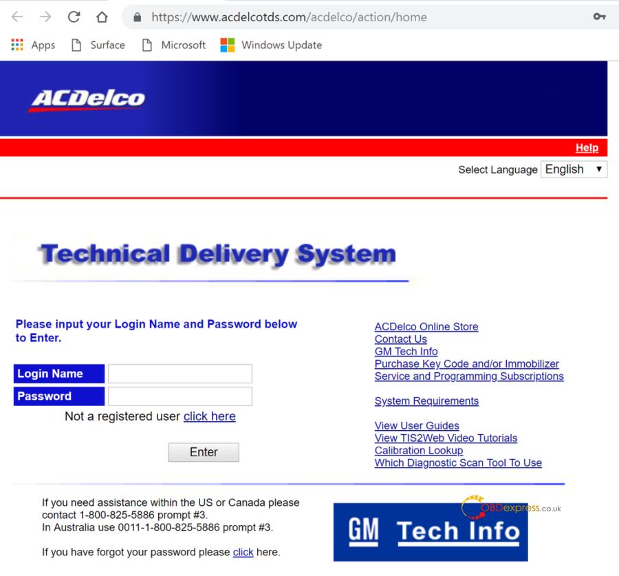 Tis2web Interface 05