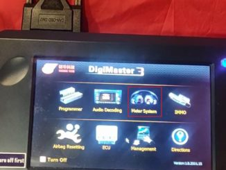 Benz W166 Mileage Correction Via Digimaster3 02
