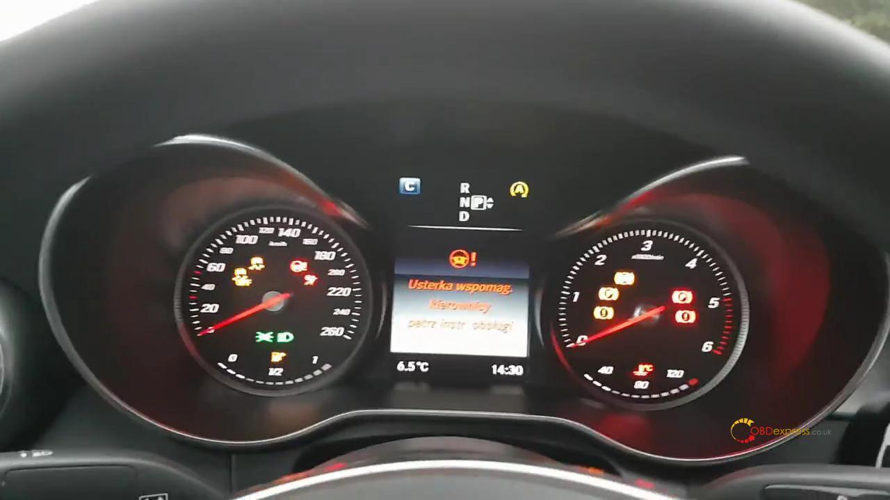 Dts Monaco Code Mercedes W205 01