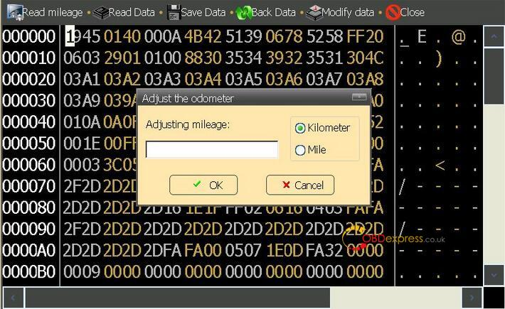 Ford Mondeo Odometer Adjust By Digimaster 3 07