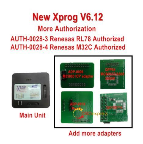 New Xprog V6.12 03
