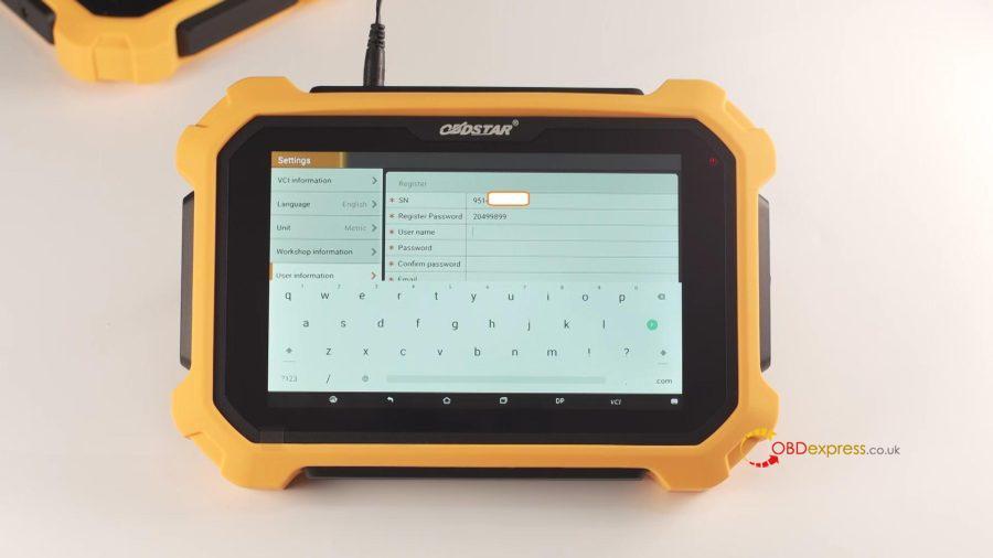 Obdstar X300 Dp Plus Register And Update 10