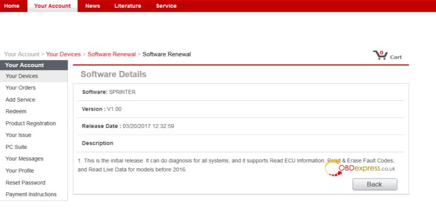 Autel MD808 Pro Sprinter Coverage 10