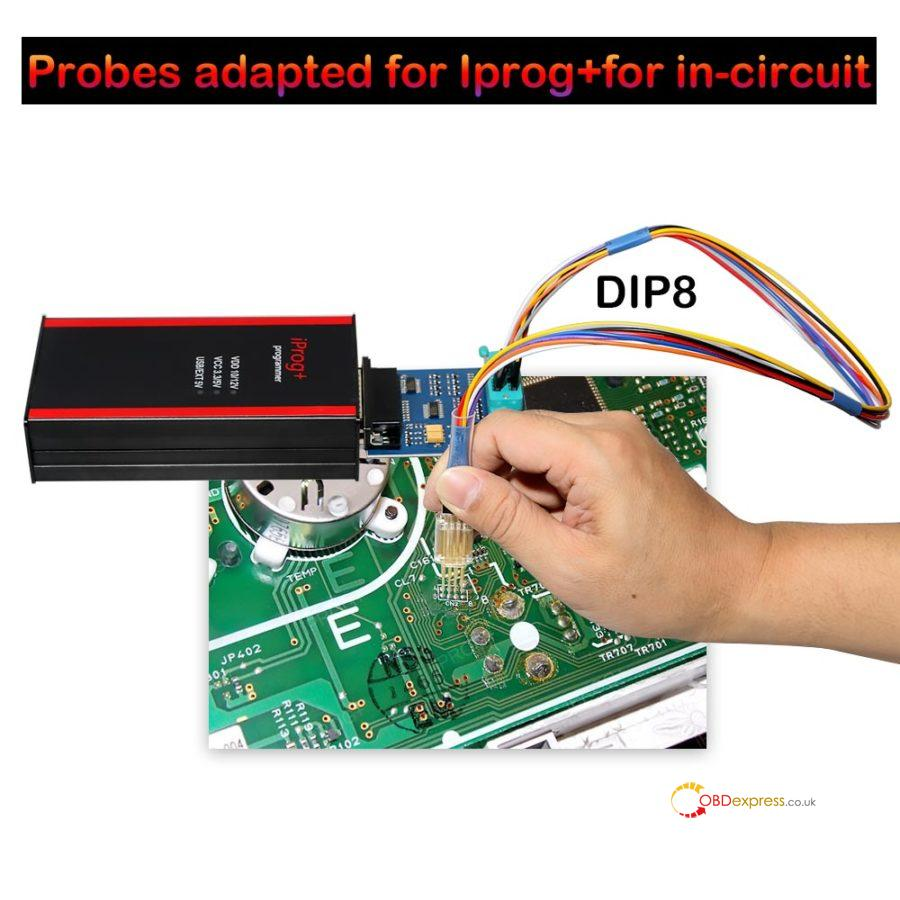 Probes Adapters For IPROG+ Pro In Circuit 9