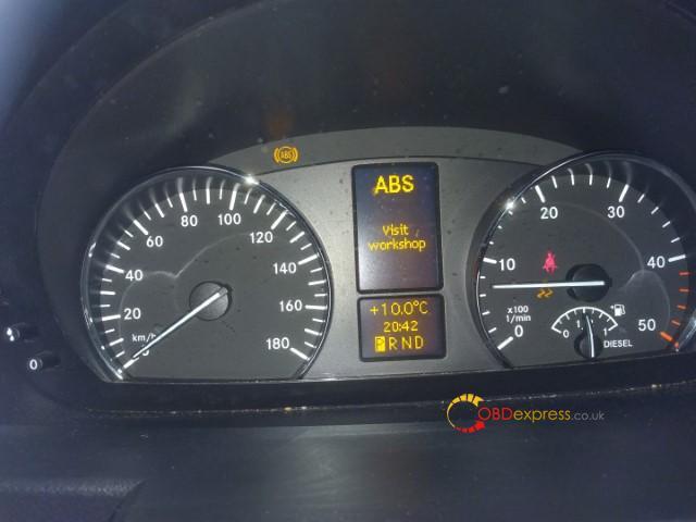 Autel Md808 Pro Reset Benz 906 155 Abs Esp Light 01