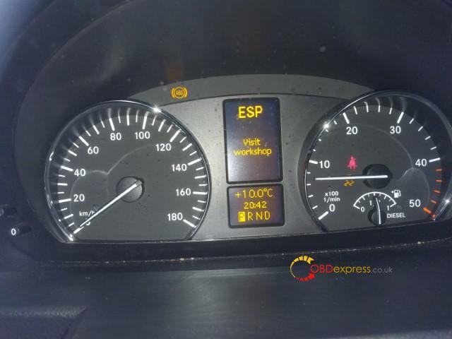 Autel Md808 Pro Reset Benz 906 155 Abs Esp Light 02