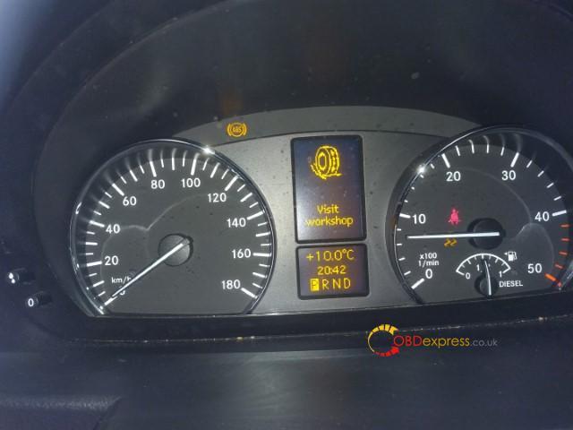 Autel Md808 Pro Reset Benz 906 155 Abs Esp Light 03