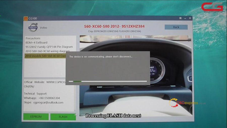 Cg100 Iii Volvo S60 Xc60 S80 Mileage Adjust 21