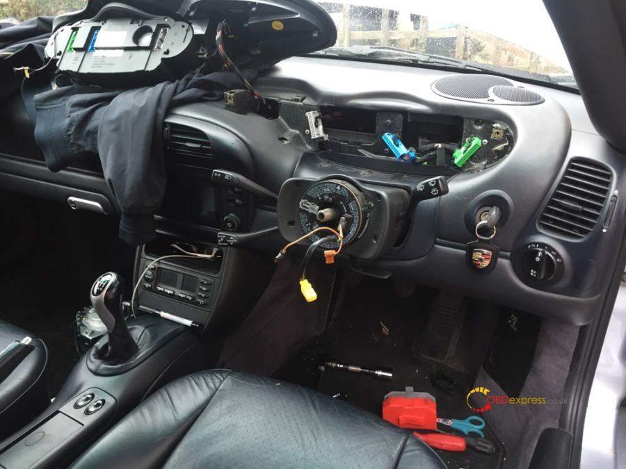 Piwis Retrofit Porsche 996 Cruise Control 18