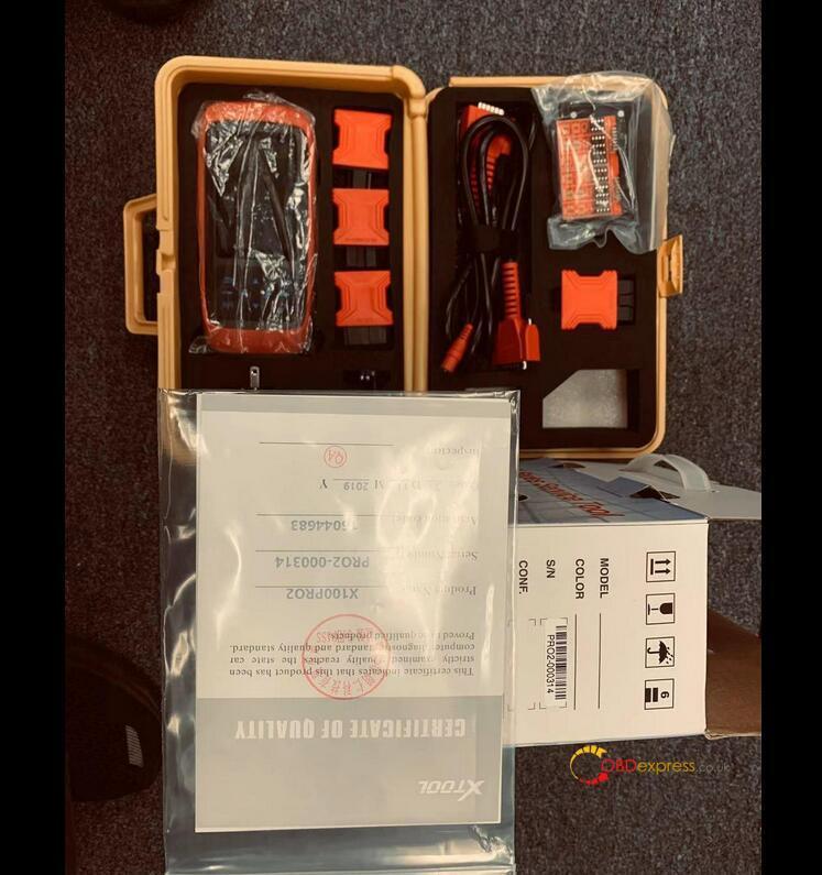 xtool x100 pro2 ford mileage programming list 02 - Xtool x100 pro2 for mileage adjustment, any good? - Xtool X100 Pro2