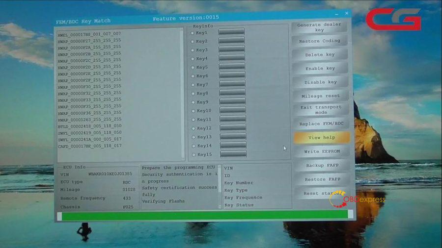 Cg Pro Cgdi Bmw Adjust 2014 Bmw X5 Mileage 32