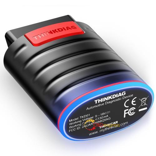Launch Thinkdiag Diagnose Benz Glk Class 01