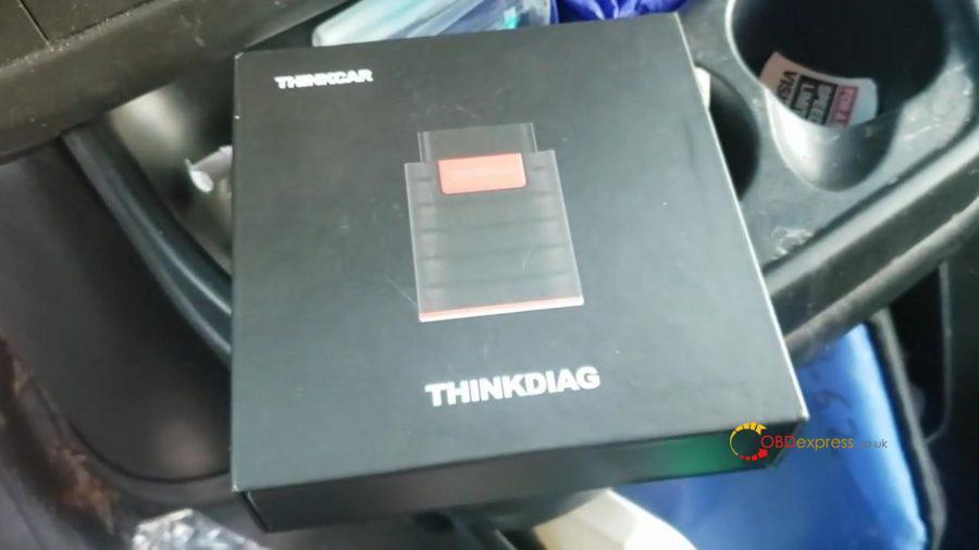 Launch Thinkdiag Diagnose Benz Glk Class 02