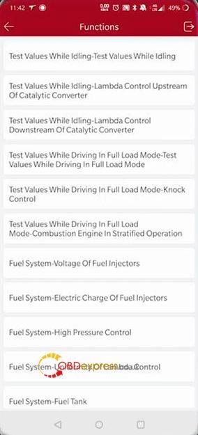 Launch Thinkdiag Diagnose Benz Glk Class 17