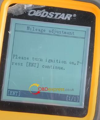 x300m mileage correction vw 13 - How to correct the mileage of VW with OBDSTAR 300M? - X300m Mileage Correction Vw 13