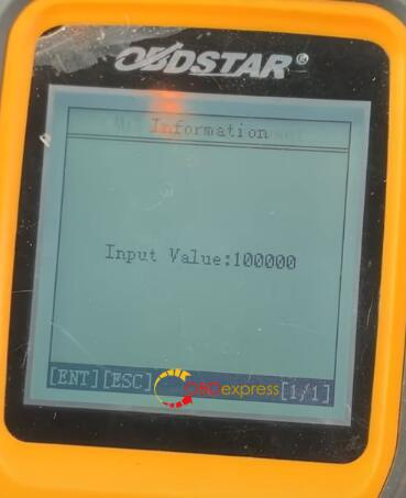 x300m mileage correction vw 18 - How to correct the mileage of VW with OBDSTAR 300M? - X300m Mileage Correction Vw 18