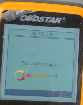 x300m mileage correction vw 7 - How to correct the mileage of VW with OBDSTAR 300M? - X300m Mileage Correction Vw 7