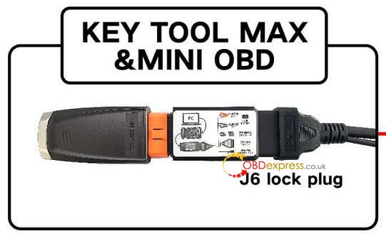 How To Connect 8A Adapter With Key Tool Max+ Mini OBD
