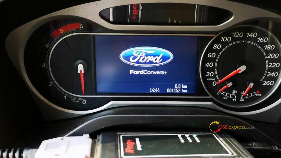 Iprog Ford Mondeo S Max Odometer Correction 03