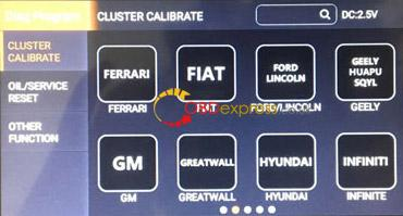 obdstar odo master 3 configurations 03 - How to choose OBDSTAR ODO Master 3 configurations for different cars?