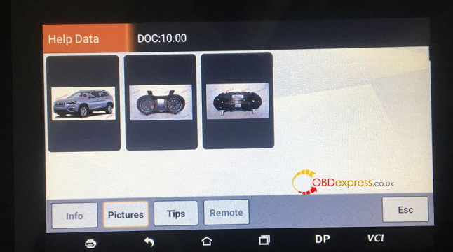 obdstar odo master 3 configurations 07 - How to choose OBDSTAR ODO Master 3 configurations for different cars?