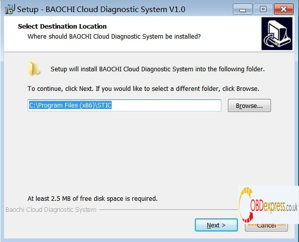 svci ing nissan software download and setup 1 - SVCI ING Nissan BAOCHI_Cloud Software User Manual : Download ,Install, registration And Longin