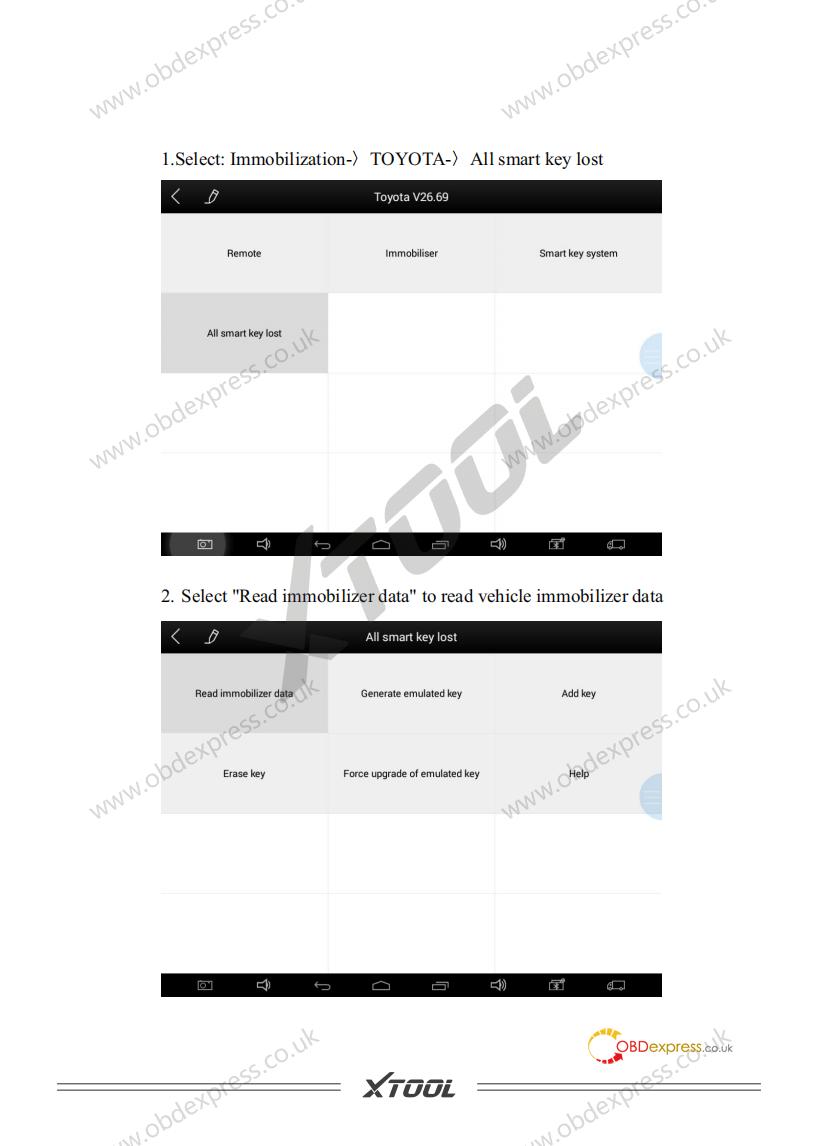 User Manual Of Ks 1 Toyota Smart Key Simulator 02