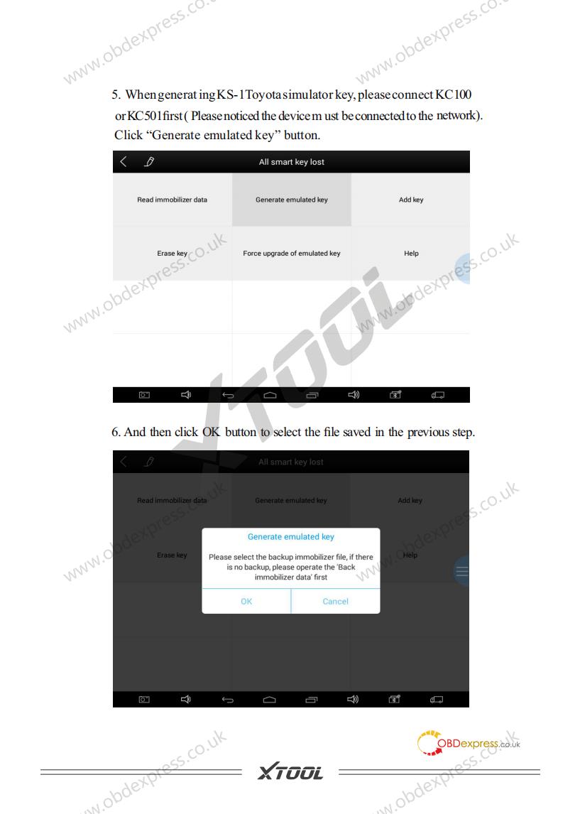 User Manual Of Ks 1 Toyota Smart Key Simulator 05