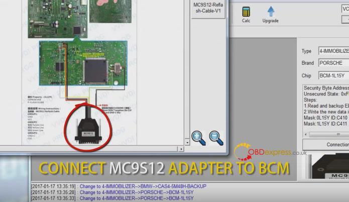 Xhorse Vvdi Porsche Bcm Reading Key Programming 7