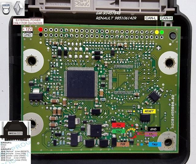 DACIA RENEULT SPC560P50L3 V2 03 - Will VVDI Prog Read SPC560 Chip? - DACIA RENEULT SPC560P50L3 V2 03