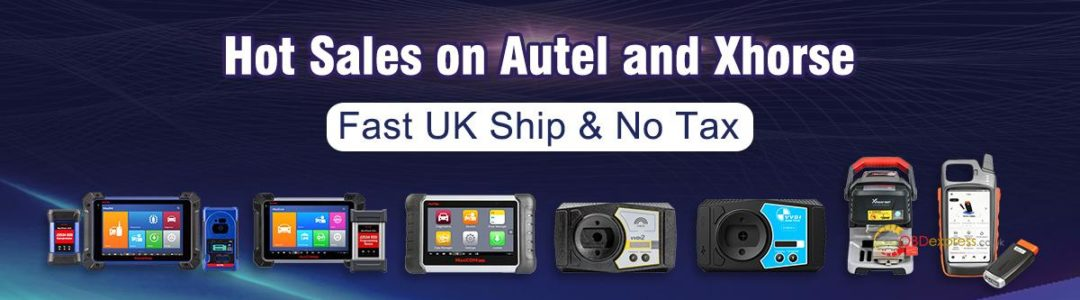 Autel Launch Uk Ship