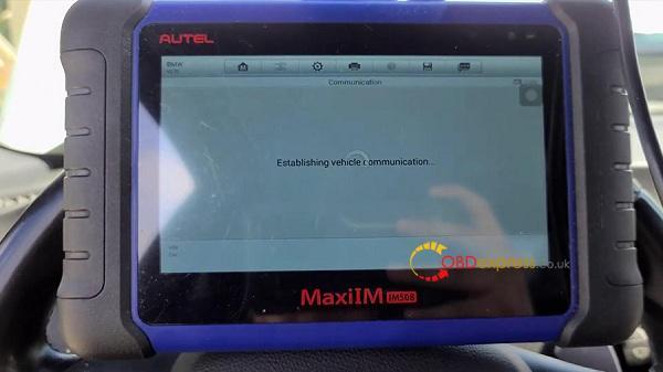 Autel Maxiim508 Xp400 2011 Bmw M3 Key Add 03