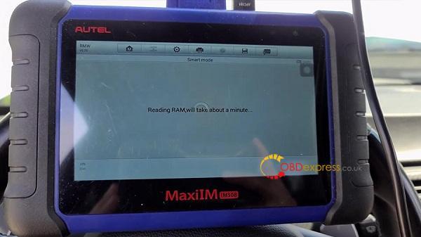 Autel Maxiim508 Xp400 2011 Bmw M3 Key Add 09