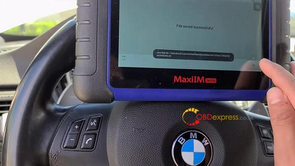 Autel Maxiim508 Xp400 2011 Bmw M3 Key Add 12